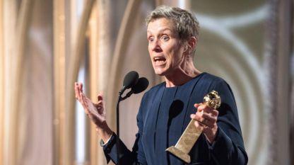 Франсис Макдорманд получава наградата за най-добра актриса за ролята си в