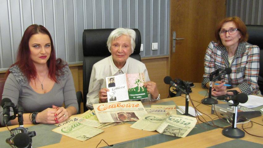 Биляна Панталеева, Неда Станимирова и Цвета Николова (отляво надясно).