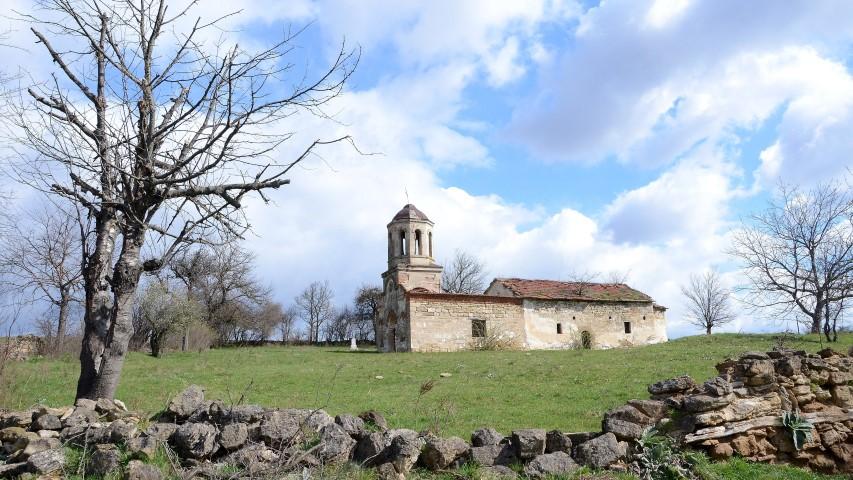 Църквата в село Макреш, която е паметник на културата