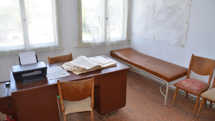 Лекарският кабинет в село Гайтанци