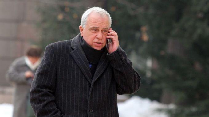 Посланикът на България в Москва Атанас Кръстин бе днес в