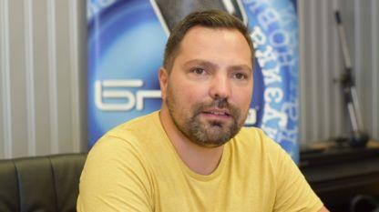 Даниел Стефанов в студиото на