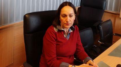 Аделина Марини в студиото на БНР