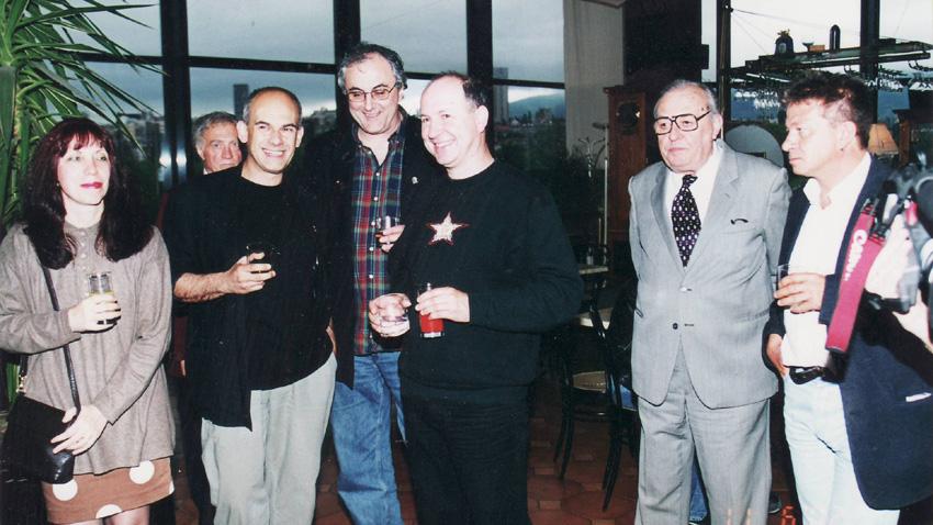Мария Ганева, Кристиян Бояджиев, Веселин Тодоров, Валди Тотев, Константин Драгнев-Графа, Александър Петров (отляво надясно).