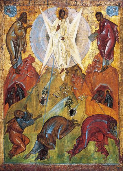 Свето Преображење Господње, икона Теофана Грека