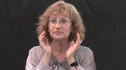 Η αναπληρώτρια καθηγήτρια Άννα Κράστεβα