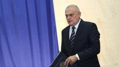 Министърът на вътрешните работи Валентин Радев