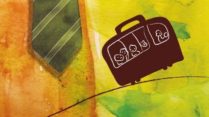 """Част от корицата на книгата """"Неща, които не се побират в куфар""""."""