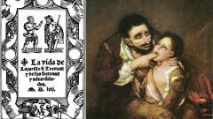 "Корицата на ""Животът на Лазарильо де Тормес"
