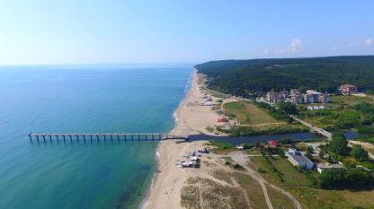 Плажът на Шкорпиловци