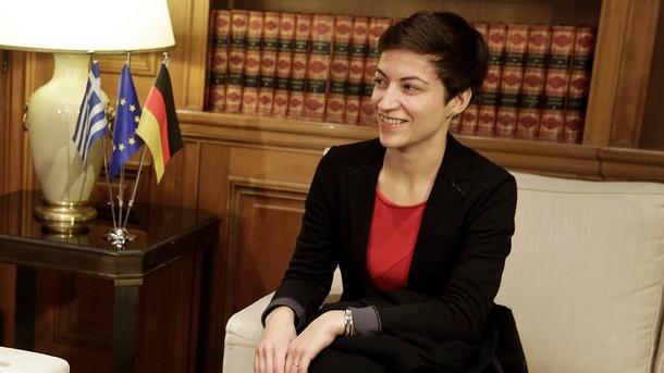 Евродепутатът и съпредседател на групата Зелените/Европейски свободен алианс Ска Келер