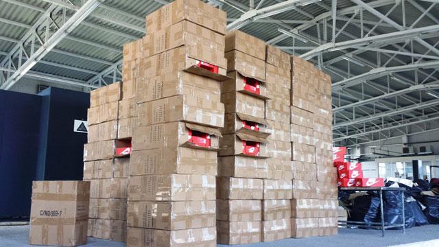 Над 8 000 маратонки и текстилни изделия, фалшификати на световноизвестни
