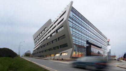 Сградата на ЧЕЗ Груп в Прага