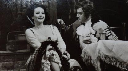 """Анелия Шуманова и Арон Аронов в """"Една нощ във Венеция""""."""