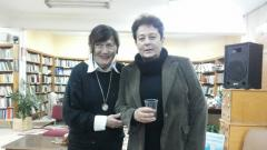 Весела Люцканова (вляво) и дъщеря й Людмила Андровска