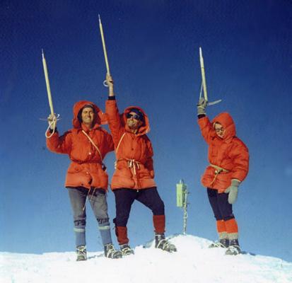 Reaching Ararat Peak