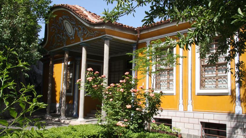 La casa museo de Jristo G. Danov en Plovdiv