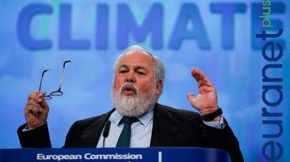 Европейския комисар за климата и енергетиката Мигел Ариас Канете