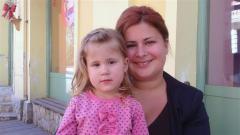 Юлия с дъщеря си Ели