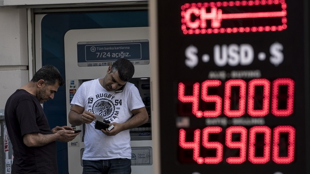 Тревожни дни за турската икономика - стойността на паричната единица