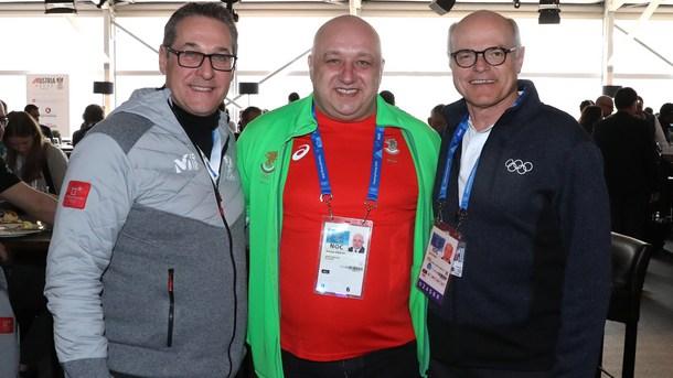 Министърът на младежта и спорта Красен Кралев се срещна с