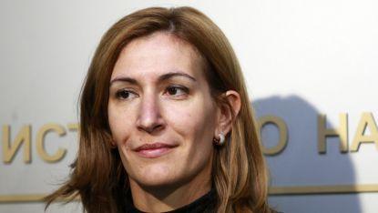 Министр туризма Николина Ангелкова