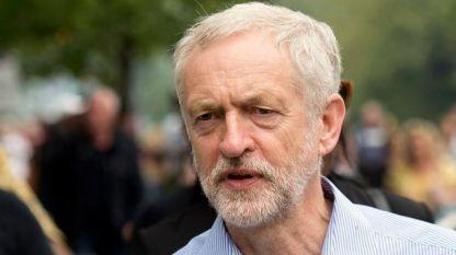 Лидерът на лейбъристите Джеръми Корбин