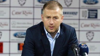 Едуард Йорданеску по време на престоя му в ЦСКА София