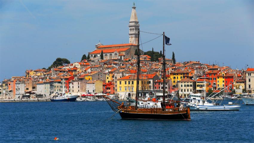 Ровин е едно от най-посещаваните курортни градчета в Хърватия.
