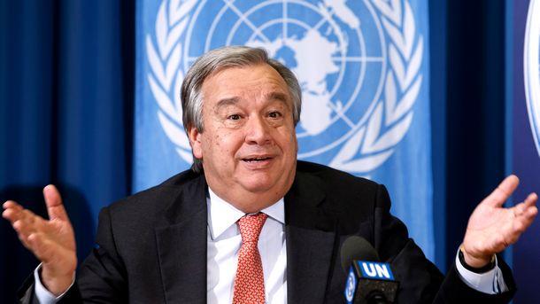 UN-Generalsekretär AntónioGuterres