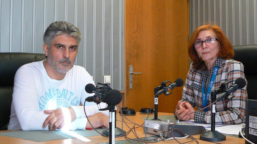 Росен Йорданов разговаря с Цвета Николова в студиото на