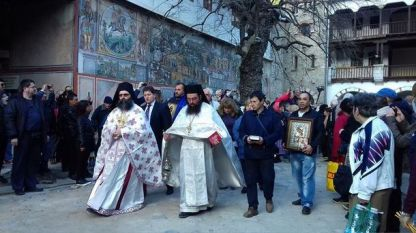 Литийно шествие в Бачковски манастир