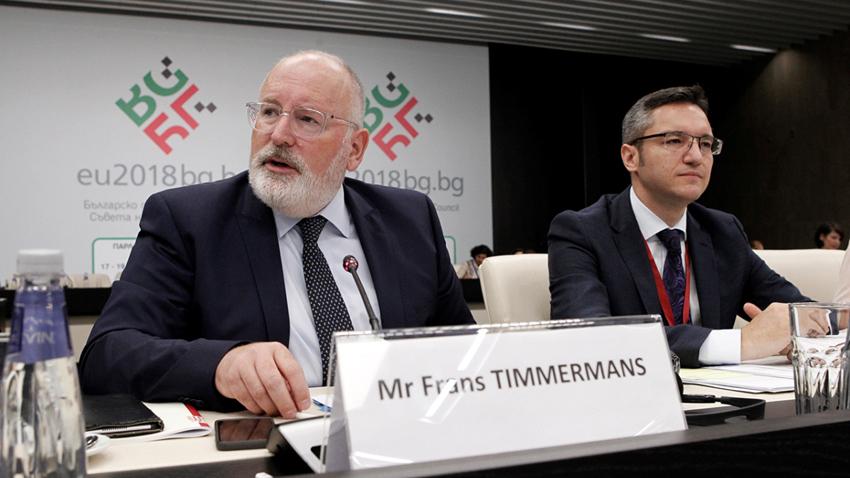 Франс Тимерманс и Кристиан Вигенин
