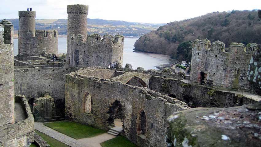 Замъкът в Конуи, Уелс