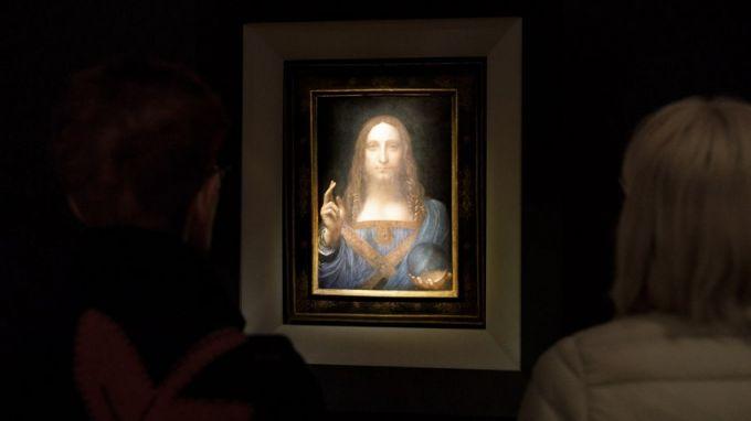 , вероятно е дело на Леонардо да Винчи, като няколко