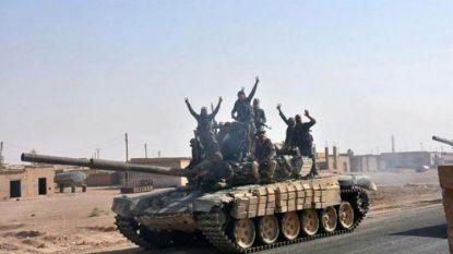 Сирийските сили изгониха джихадистите от източния град Маядин през октомври 2017 г.