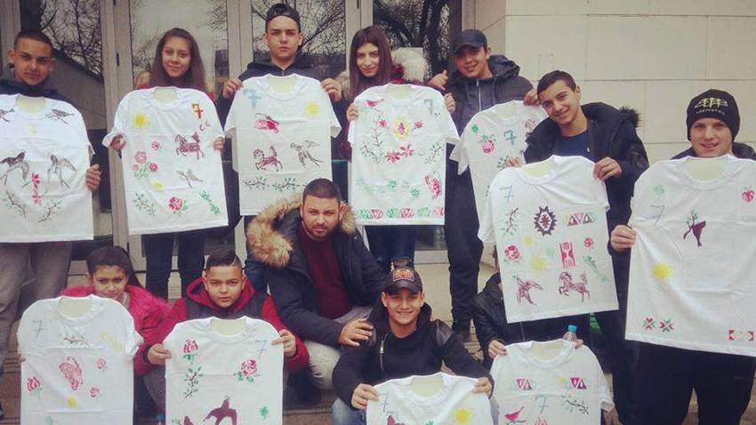 Росен Богомилов (в средата) със своите ученици