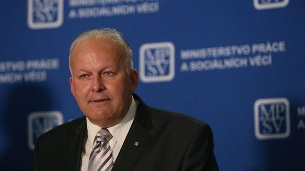 Министърът на труда и социалните грижи на Чехия Петър Кърчал