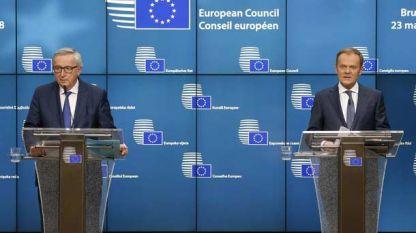 Jean-Claude Juncker dhe Donald Tusk