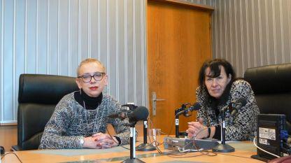 "Д-р Инна Балабанова (вляво) и Светла Милчева в студиото на програма ""Христо Ботев"""