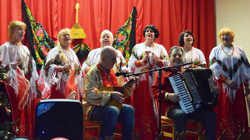 Фольклорный коллектив села Казашко