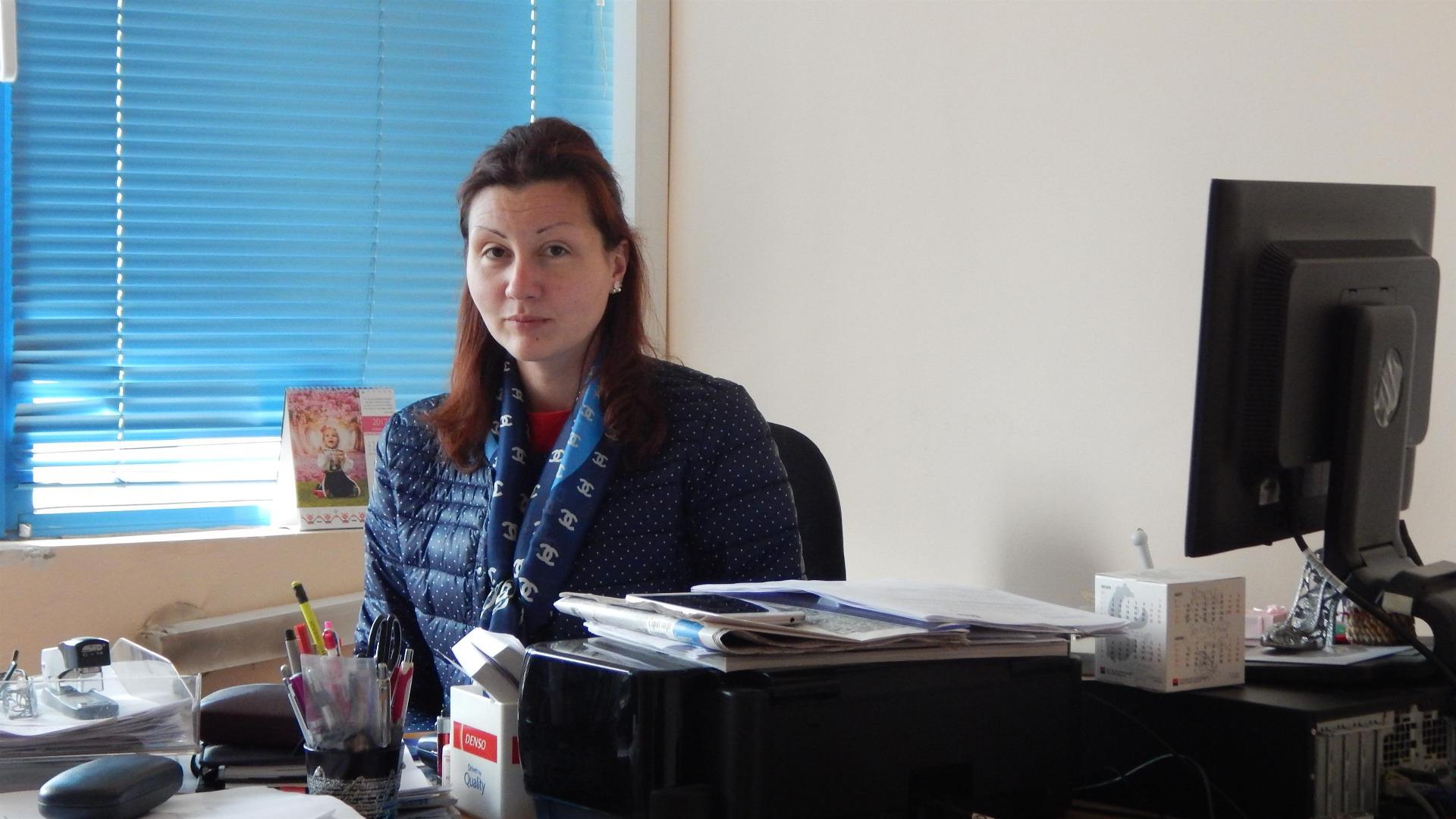 Десислава Петрова, главен експерт в РЗОК-Видин.