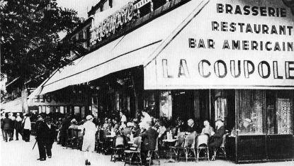 Прочутият в началото на миналия век La Coupole в Париж, посещаван от редица известни художници, в това число и от Пикасо