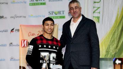 Даниел Асенов е най-добрият млад спортист на България за 2015 година