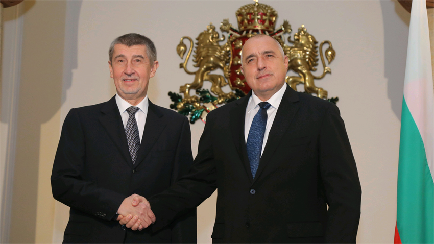 Andrej Babiš und Bojko Borissow