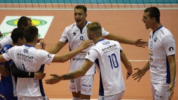 """""""Добруджа"""" продължава в турнира за Купата по волейбол"""