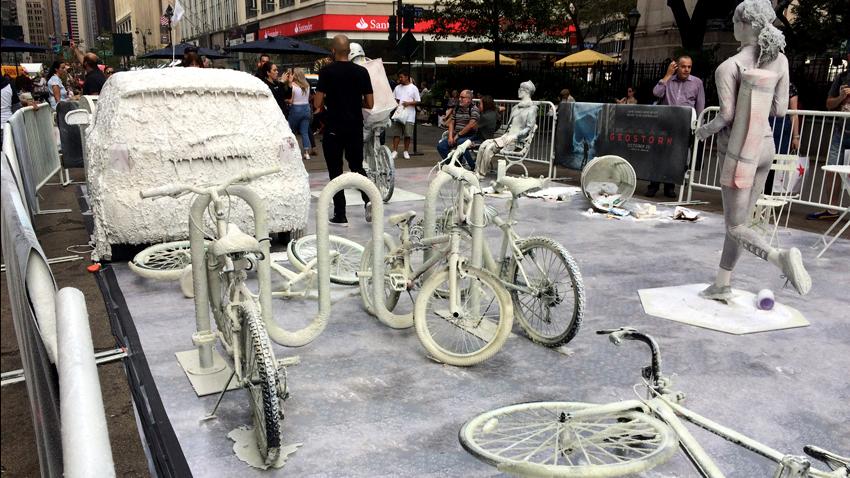 New York'ta sokak sanatı.