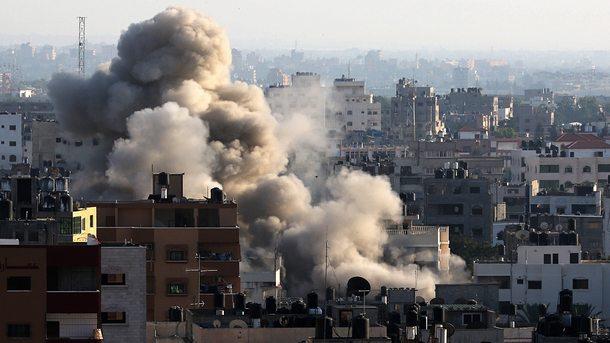 При израелски въздушен удар в град Газа са ранени най-малко