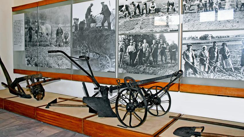 Част от експозицията на Музея на гурбетчийското градинарство