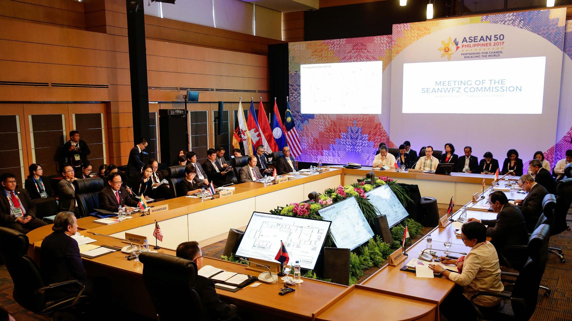 Лидерите на държавите от Югоизточна Азия и австрийският премиер Малкълм